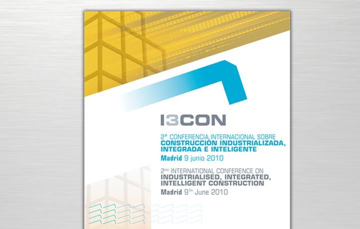 diseno identidad corporativa cartel i3con emvs madrid