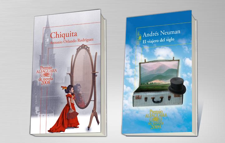 diseno portadas narrativa orlando neuman premio alfaguara novela