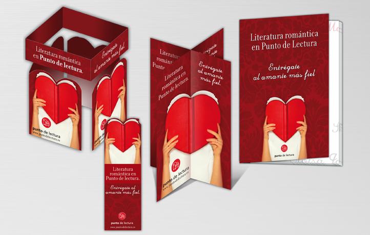 diseno campanas publicidad editorial punto lectura literatura romantica