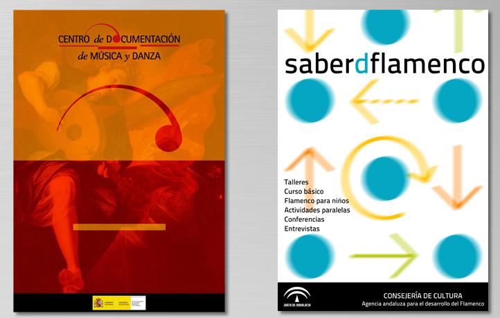 diseno carteles musica danza flamenco