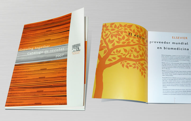 diseno catalogos revistas elsevier