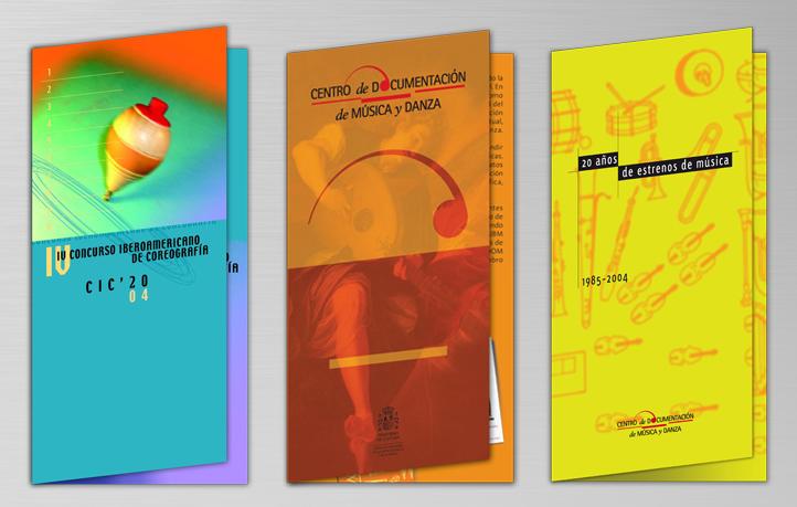 diseno folletos coreografia musica danza