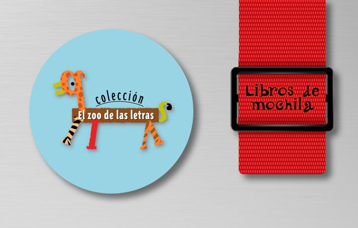 diseno grafico infantil juvenil zoo letras bruno libros mochila editex