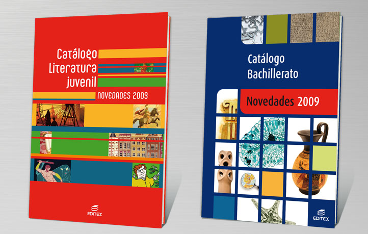 diseno grafico infantil juvenil catálogo bachillerato editex