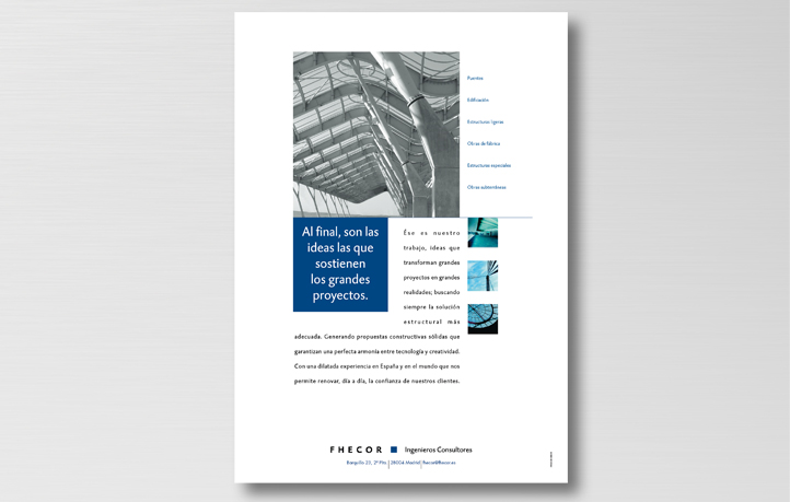diseno anuncios prensa revistas fhecor ingenieros consultores
