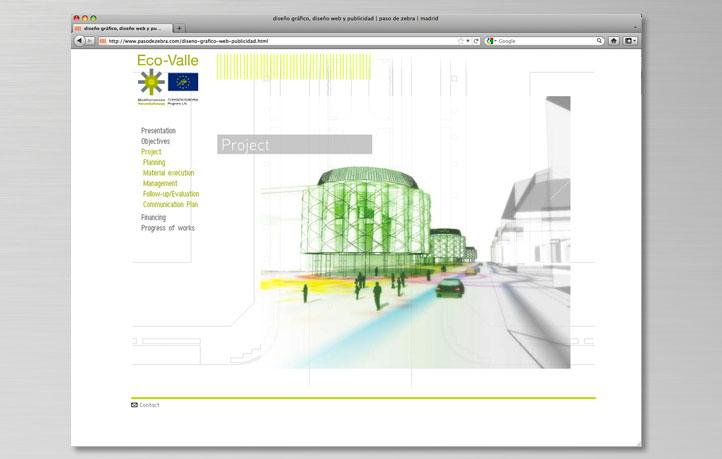 diseno webs instituciones eco-valle arquitectura sostenible ayuntamiento madrid unión europea