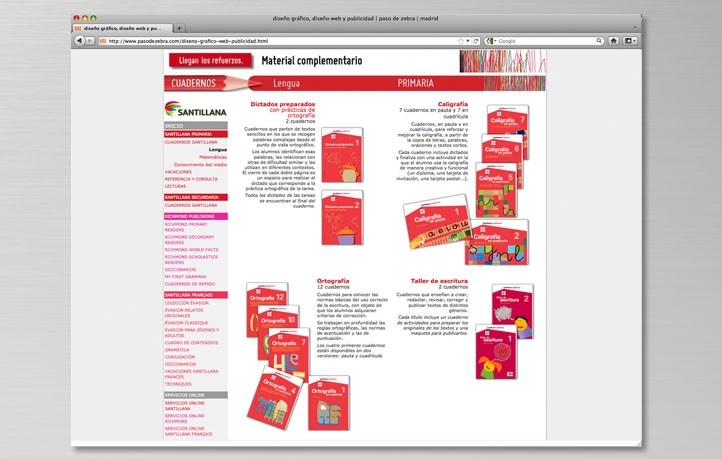 diseno webs empresas educacion richmond publishing