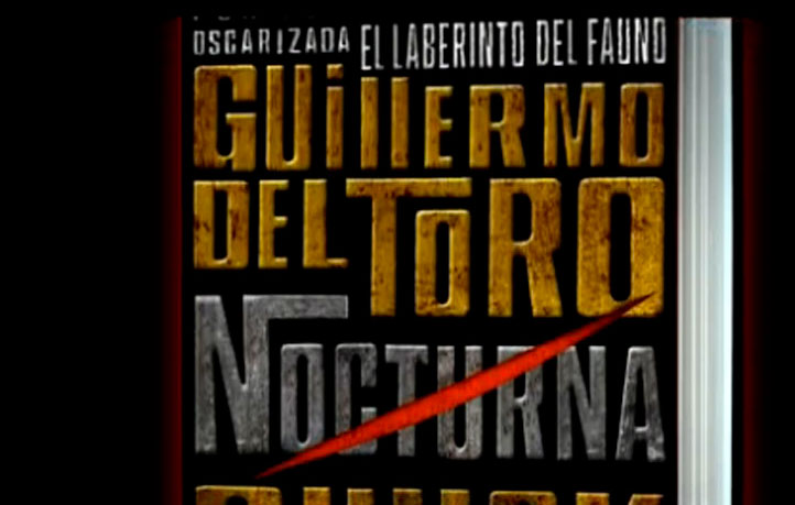 diseno book trailers video promocion lanzamiento guillermo toro