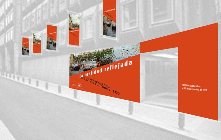 diseno identidad corporativa carteles exposiciones museo ico