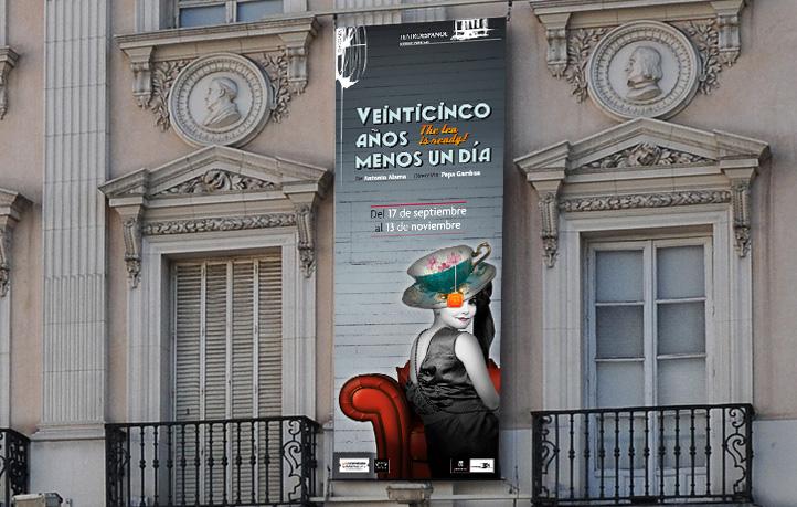 diseno publicidad exterior carteles exteriores edificios teatro espanol madrid