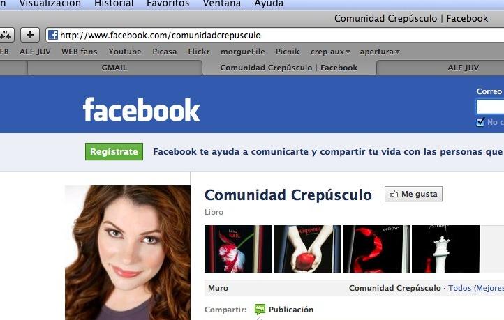 diseno campanas redes sociales facebook comunidad crepusculo